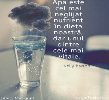 Kelly Barton_Apa este cel mai neglijent nutrient in dieta noastra dar unul dintre cele mai vitale