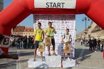 Podium Brasov Maraton