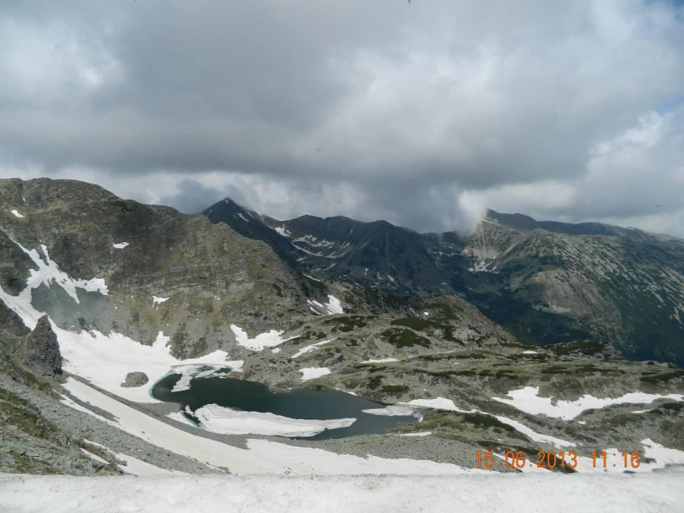 retezat trail race - lac glaciar