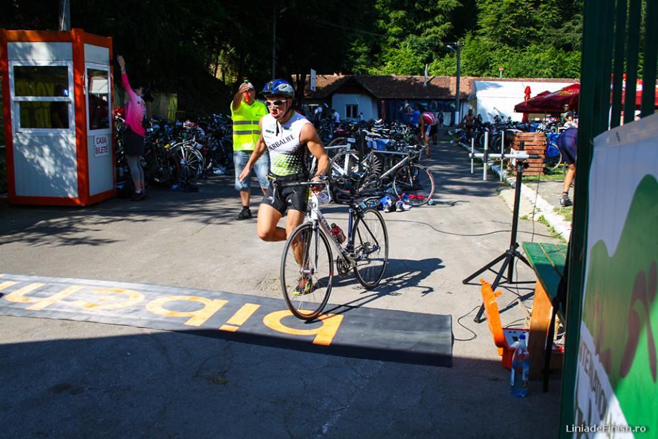 Tranziție Bicicleta Brasov Triatlon