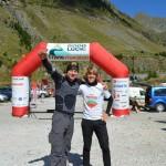 Hajnal Robert - Tica Darie - Transmaraton 2013