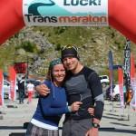 Andreea Miulescu - Hajnal Robert - Transmaraton 2013