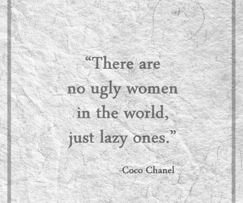 nu exista femei urate doar lenese