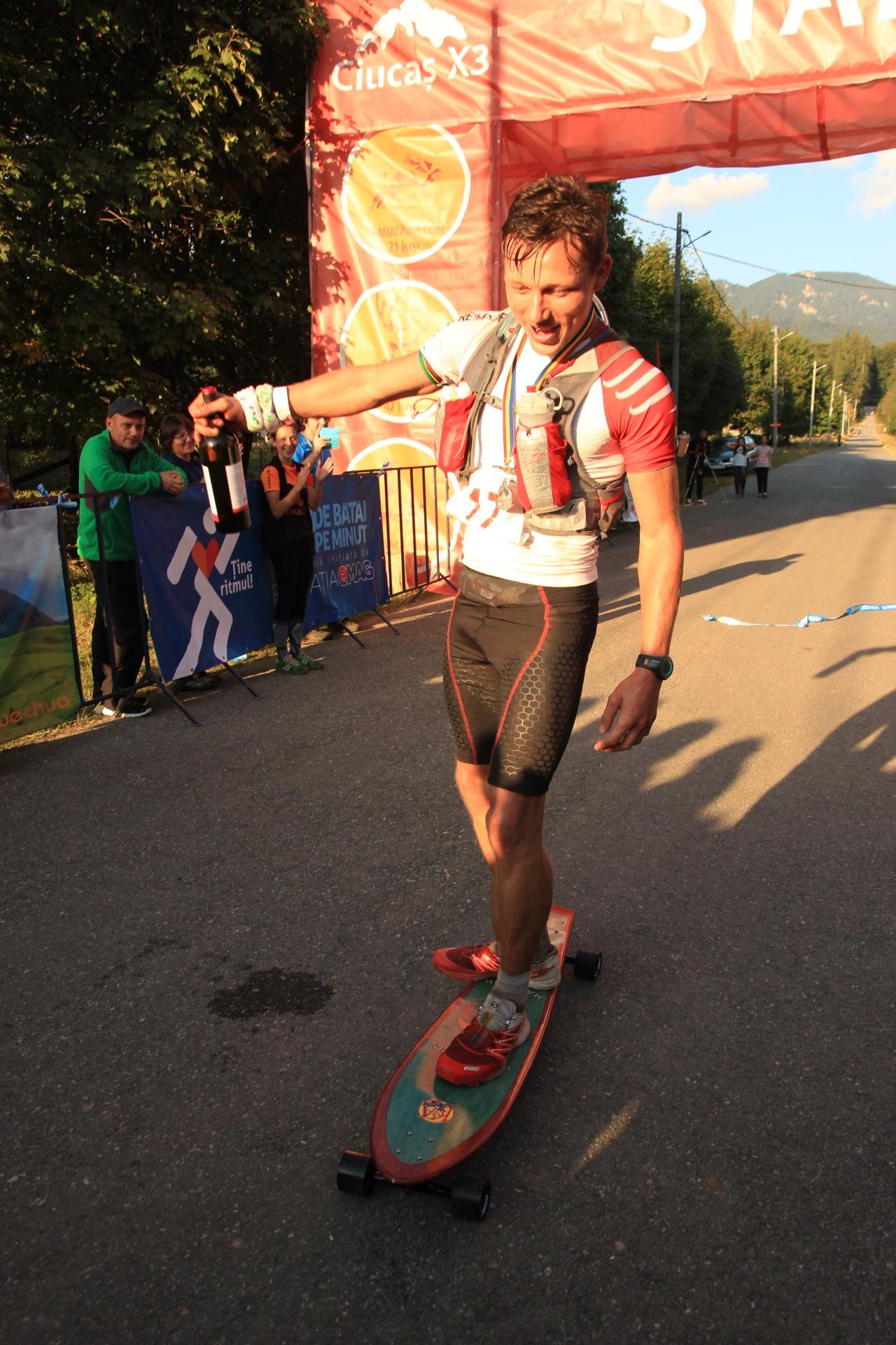 Finish UltramaratonCiucasX3