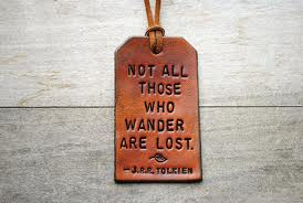 Not all thes who wander