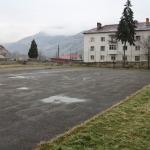 Curtea școlii din Petrila