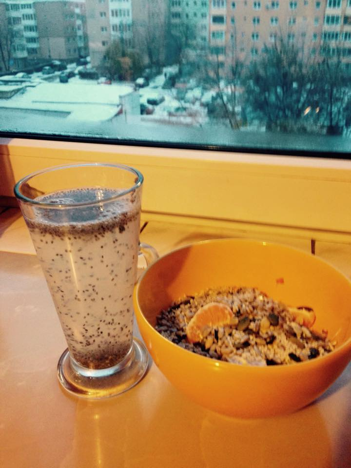 Imagine Apa+Chia - Mic-Dejun