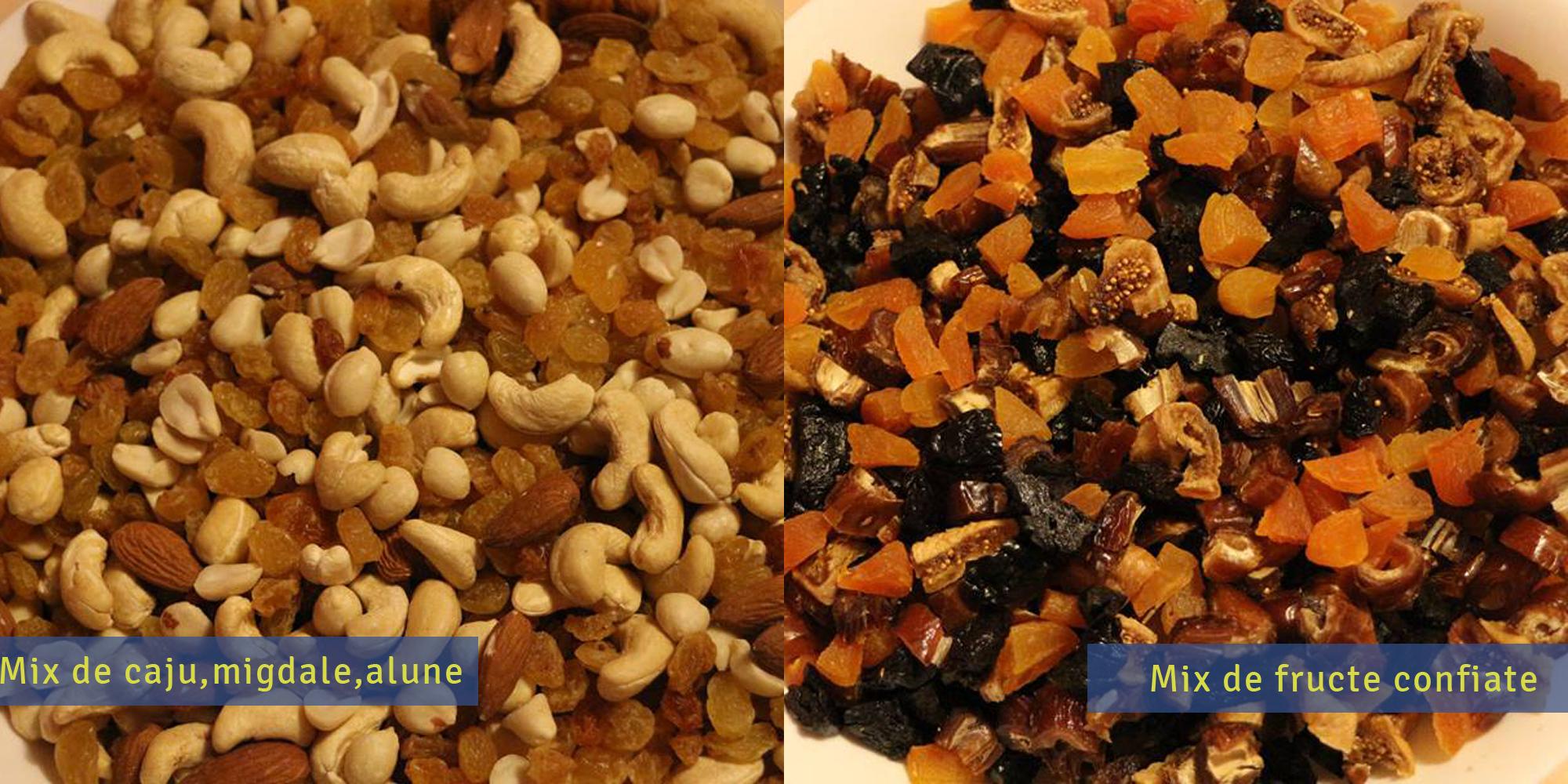 mix de fructe confiate seminte si alune