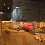 Avion-ul care ne-a adus în Barcelona