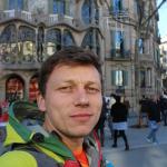Selfie la Casa lui Gaudi
