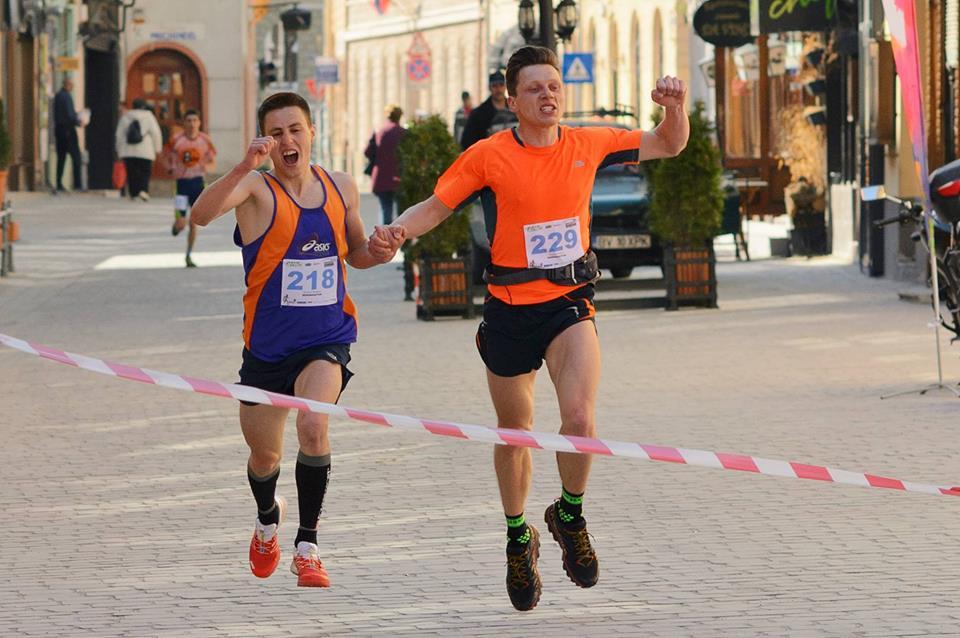 Brasov Maraton - Locul II - Finish