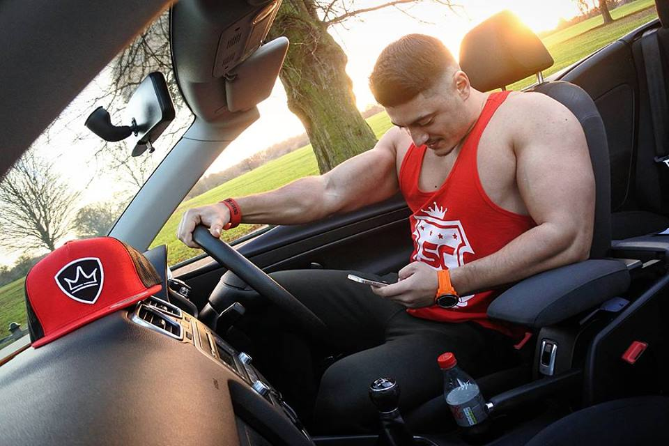 Marius Casian Bortes Bodybuilder be legend car