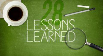 28 de lectii invatate pana la 28 de ani