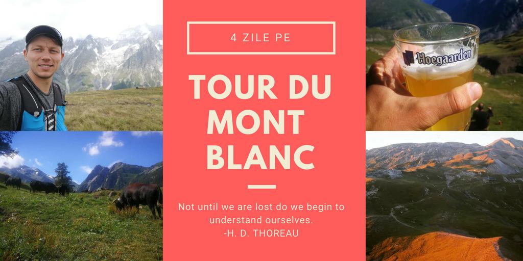 Tour du Mont Blanc UltraTrai du Mont Blanc