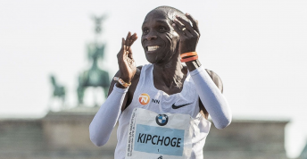 Eliud Kipchige Berlin Maraton New WORLD RECORD 1